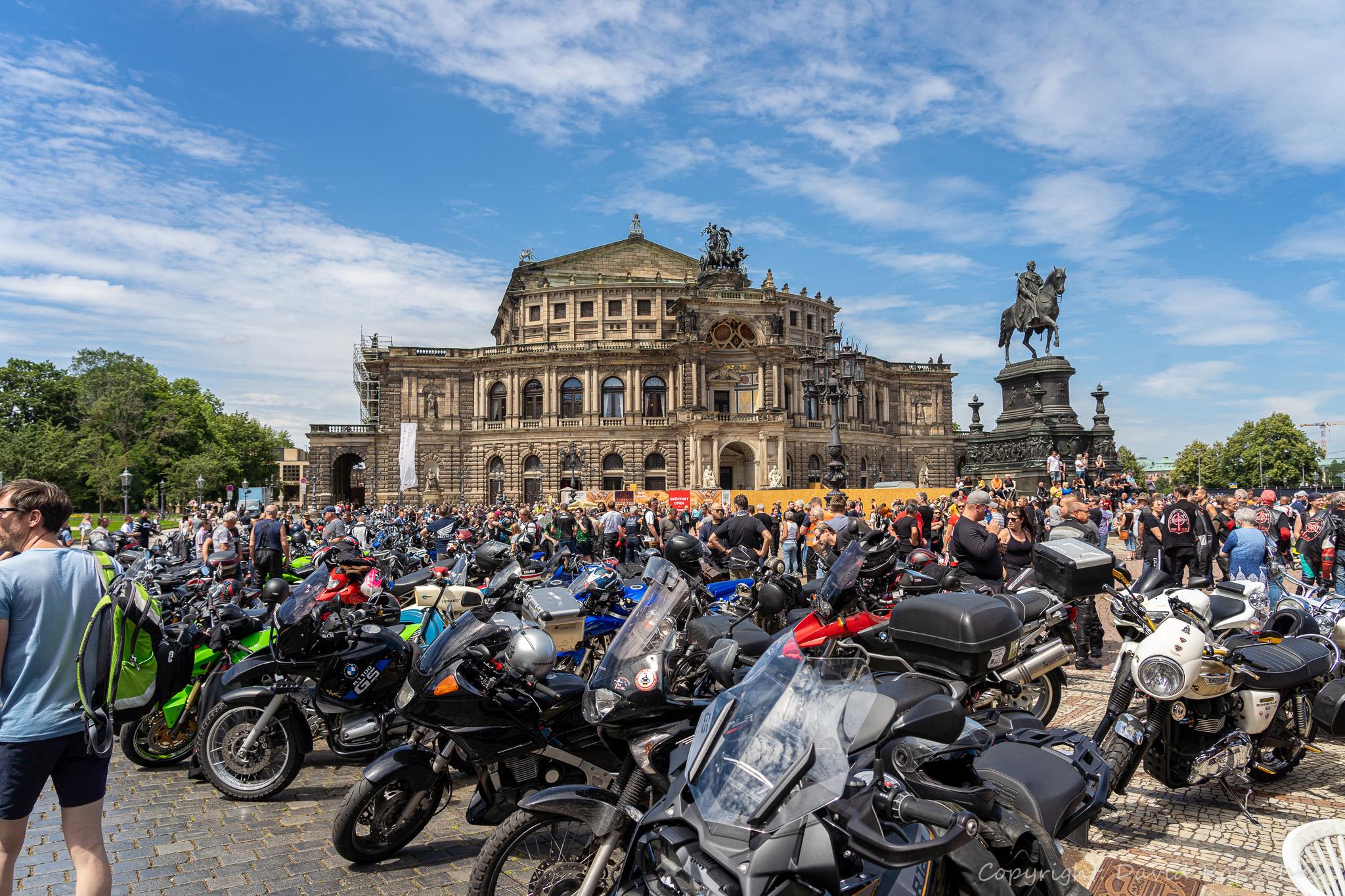 Kundgebung Dresden