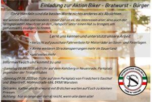 Biker – Bratwurst – Bürger