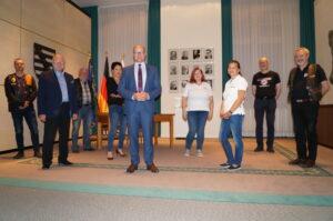 Ein Besuch in der sächsischen Staatskanzlei